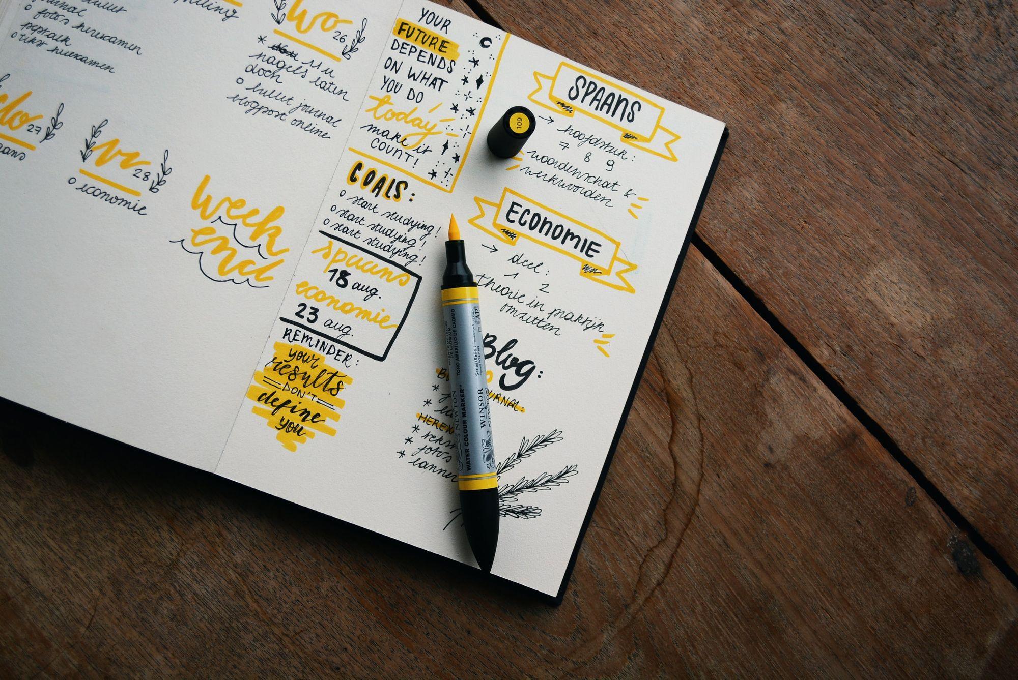 Planning Calendar Book