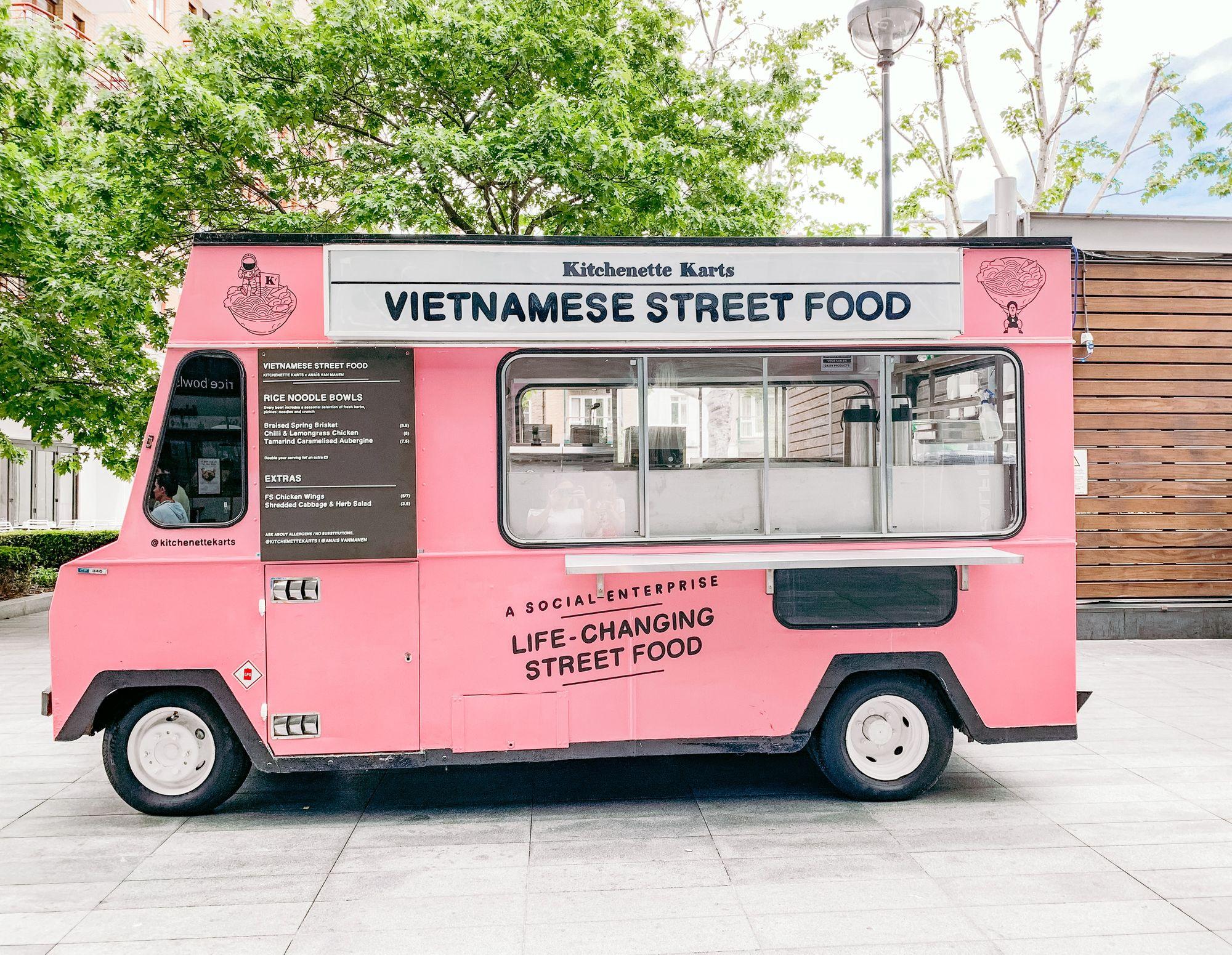 Vietnamese Street Food Truck Business