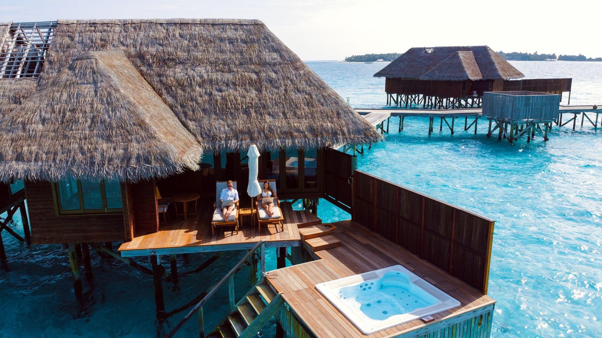 Digital Nomad Beach Hut
