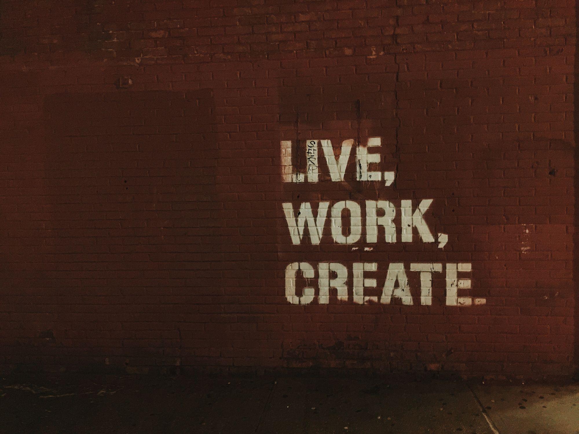 work-life balance poster