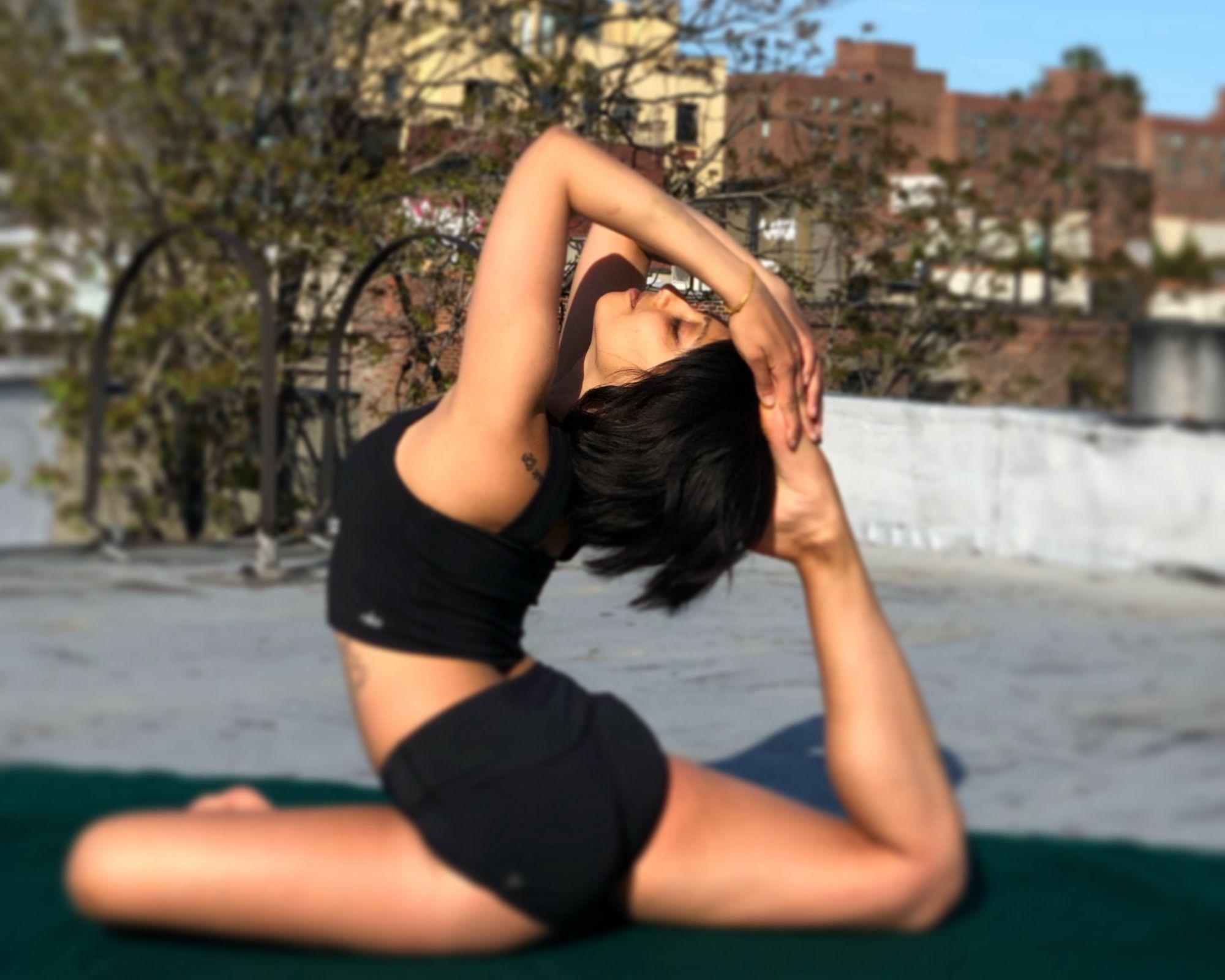 #GoSoloStories: Megna Paula Yoga in New York City