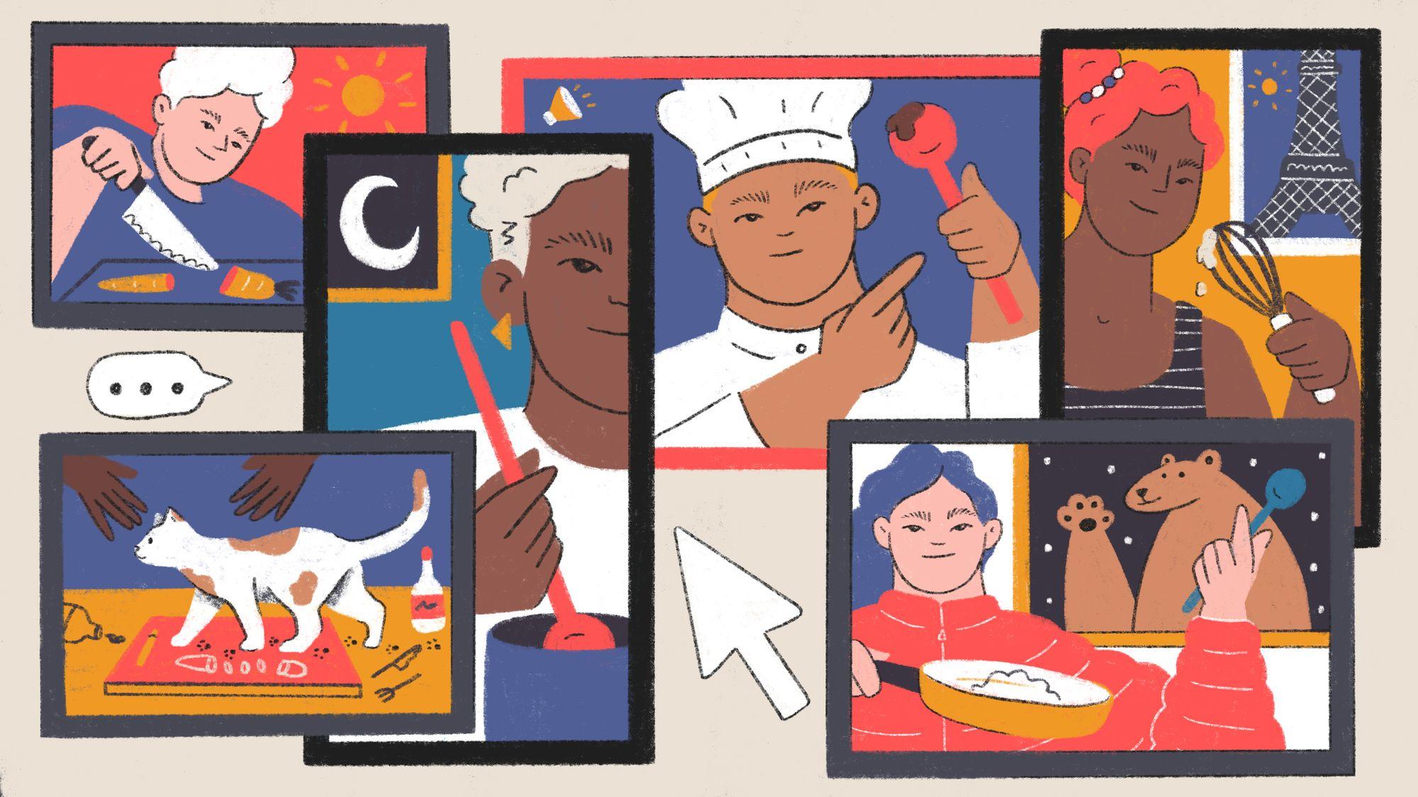 Illustrations by Carmela Caldart