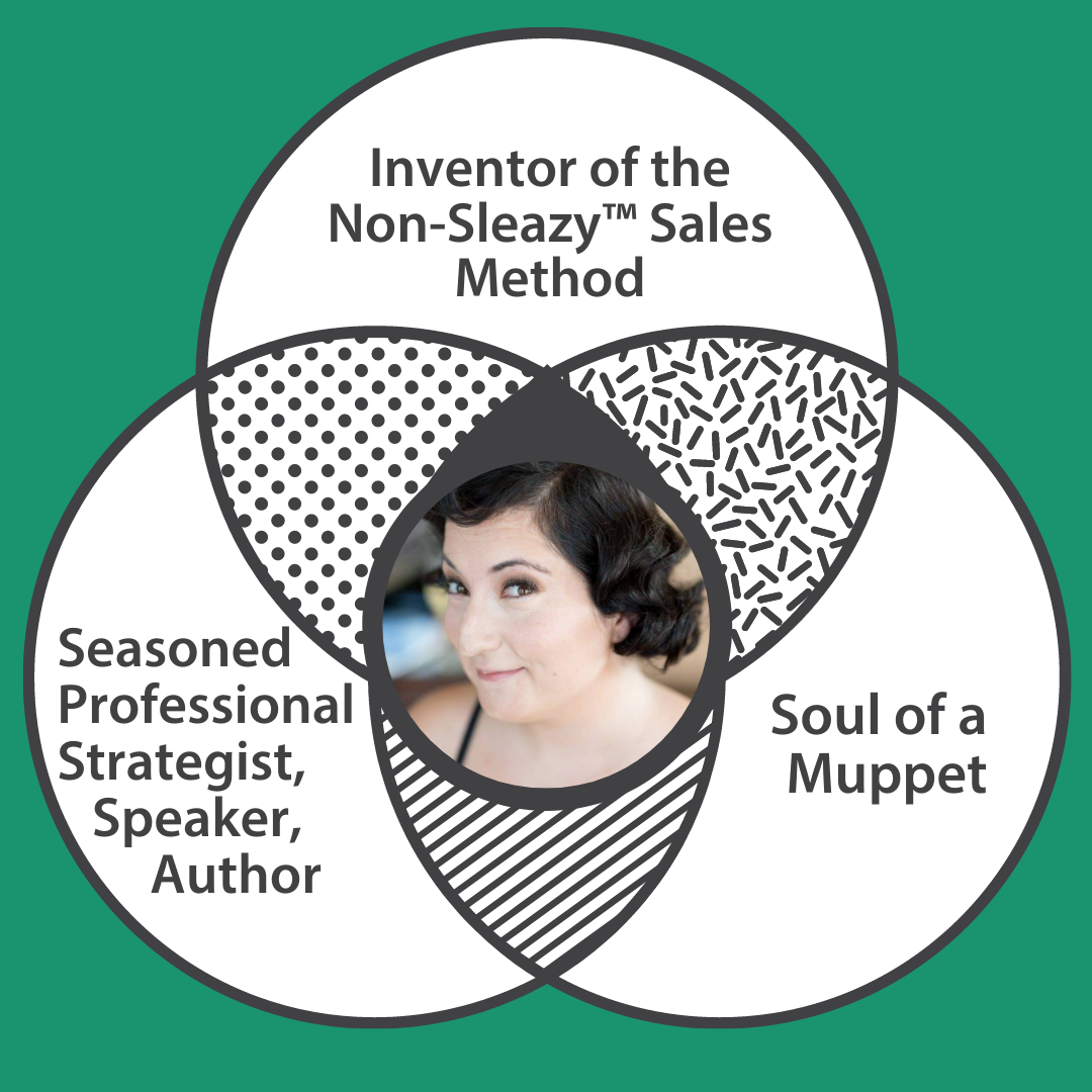 Teaching sales skills -  The Non-Sleazy Sales Academy