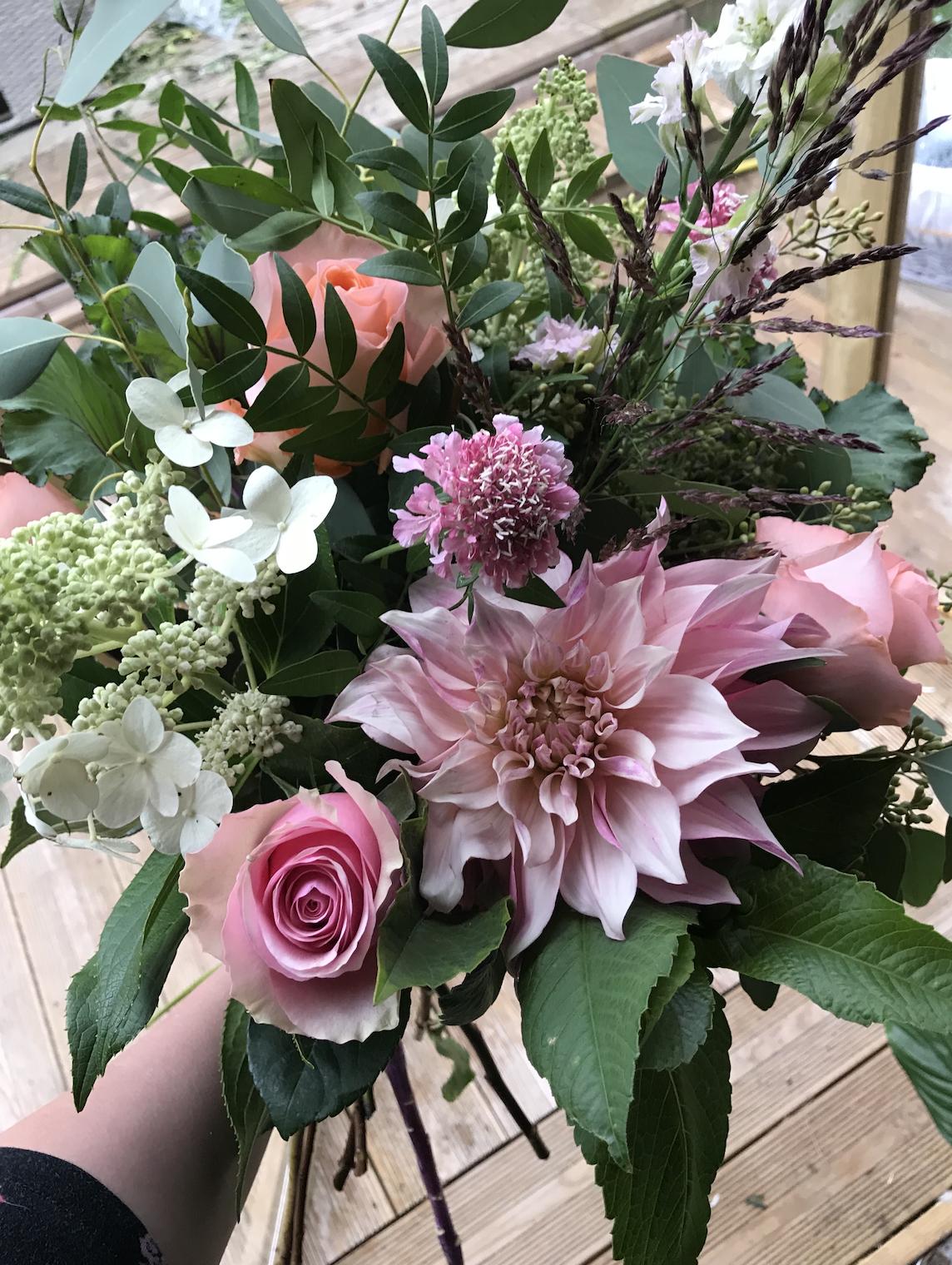 15 years of flowers - Ella Wicks