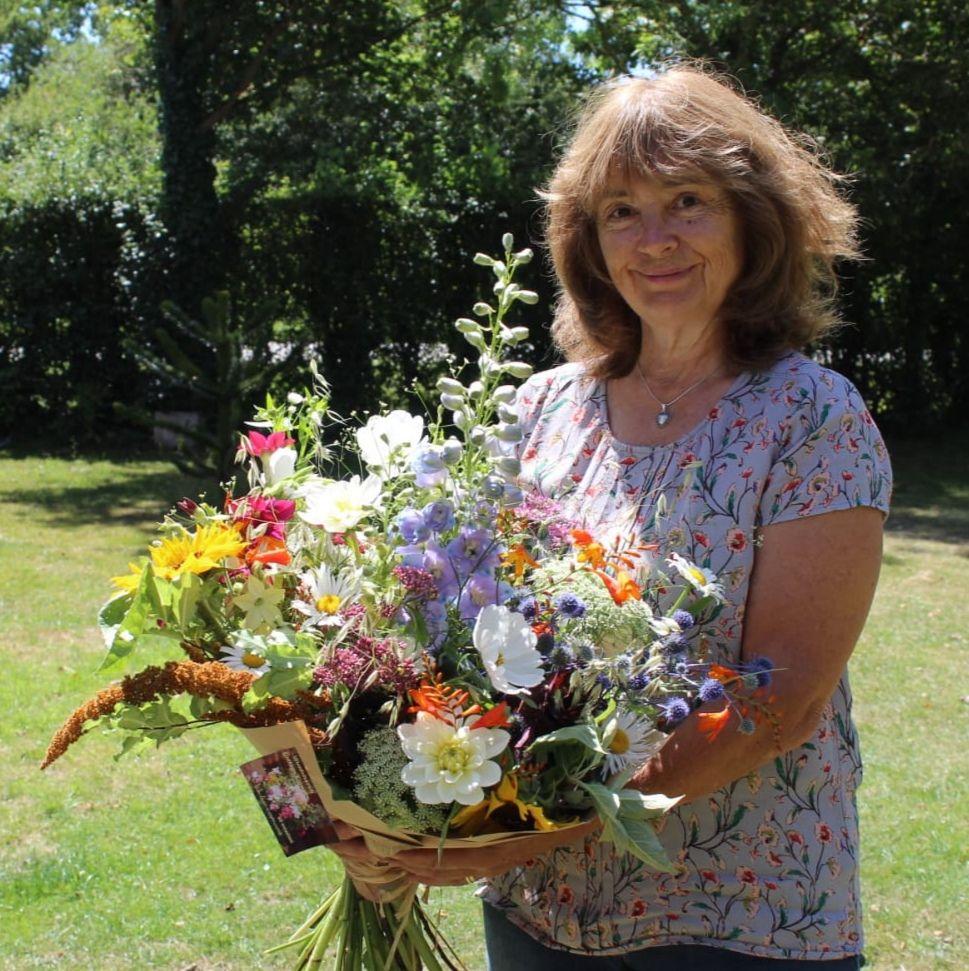 Self-taught flower artisan & farmer - Woodchurch Cottage Flowers