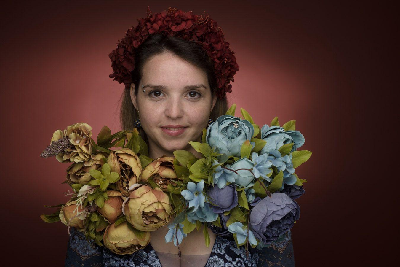 Flowers with soul - Simona Maria Munteanu