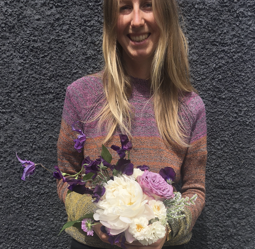 Flowers are her favourite medium - Lindsey Kinsella